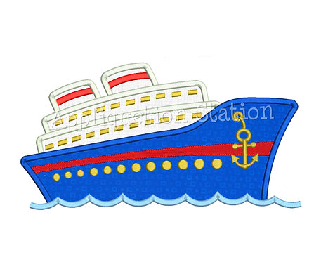 Cruise Ship 2 Color