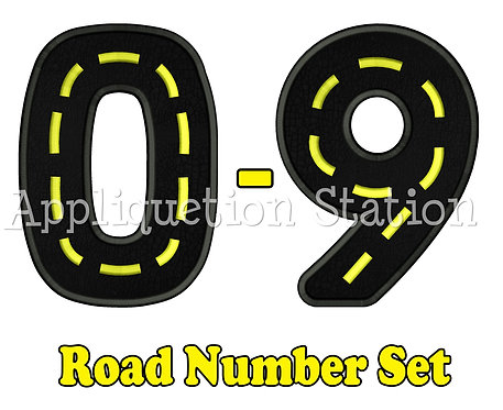 Road Number Set