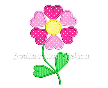 Heart Flower 2 Color