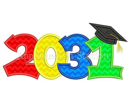 2031 Graduation Cap