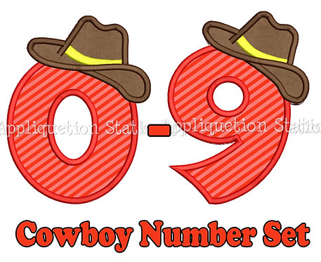 Cowboy Complete Number Set