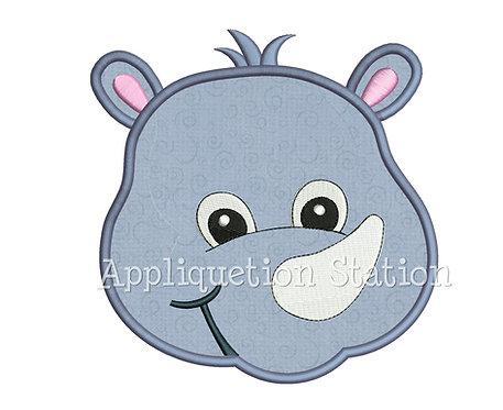 Zoo Baby Rhino Head