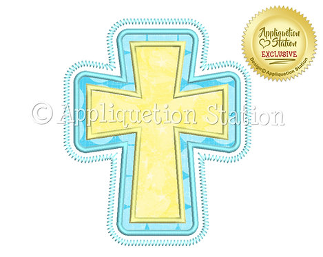 Easter Double Cross Zigag