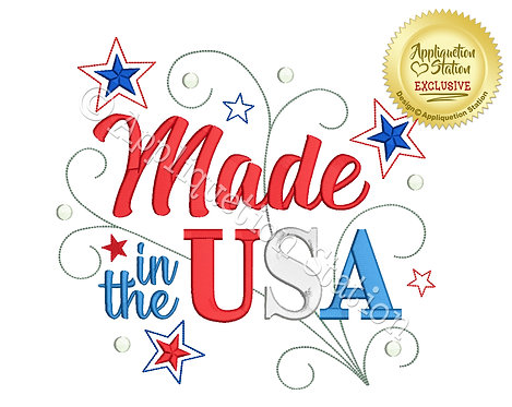 Made in the USA Word Art