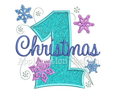 Snowflake 1st Christmas