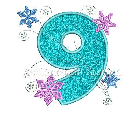 Snowflake Number 9