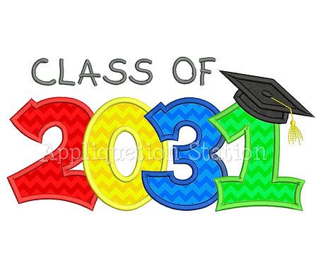 Class of 2031 Graduation Cap