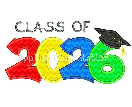 Class of 2026 Graduation Cap
