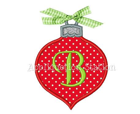 Tear Drop Christmas Ornament