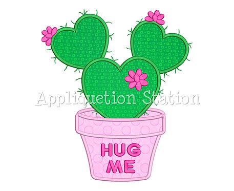 Heart Cactus Hug Me