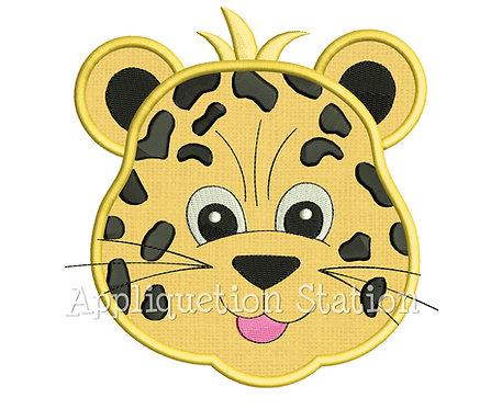 Zoo Baby Leopard Head