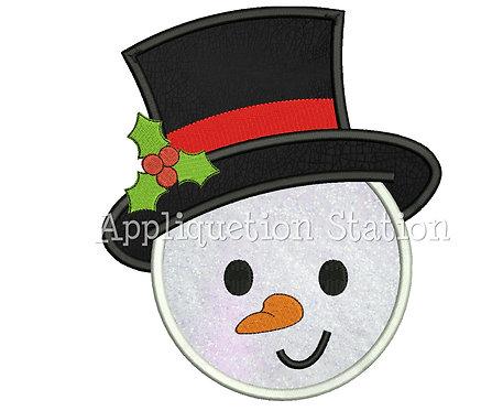 Round Snowman Head