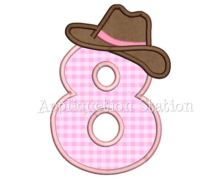 Cowgirl Number 8