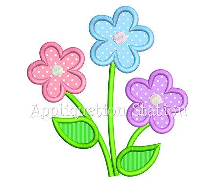 Flower Trio 3 Color