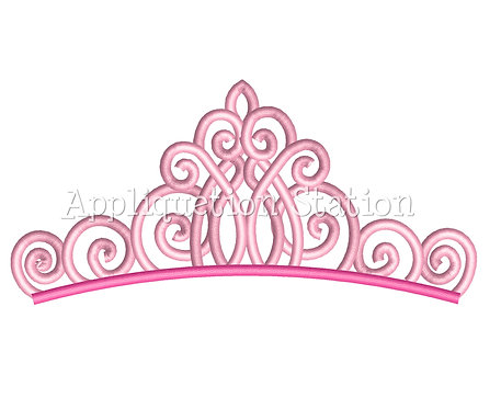 Fancy Tiara Crown