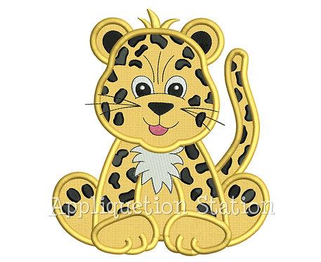 Zoo Baby Leopard