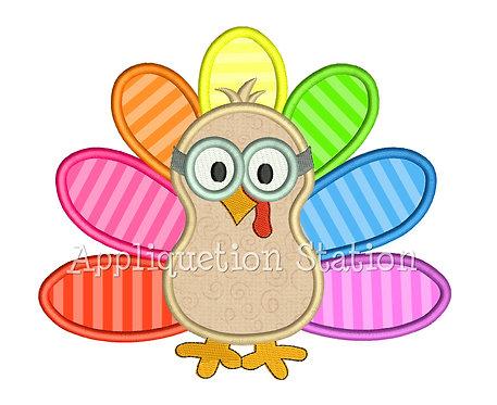 Goggle Gobbler Turkey
