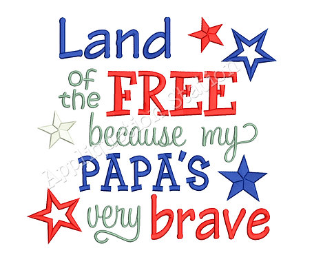 Land of the Free Papa