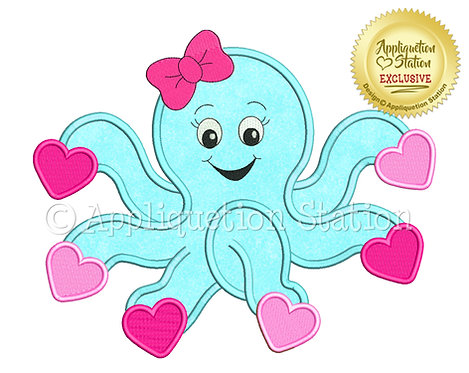 Octopus with Hearts