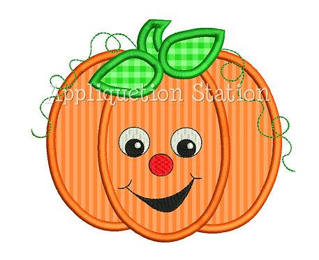 Cute Smiley Face Pumpkin