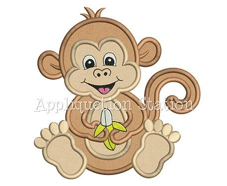 Zoo Baby Monkey