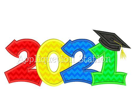 2021 Graduation Cap