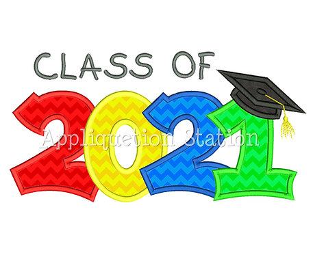 Class of 2021 Graduation Cap