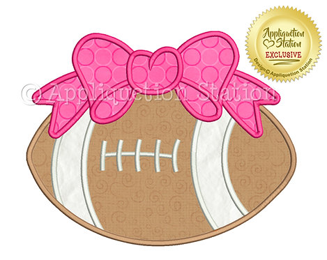 Football with Bow