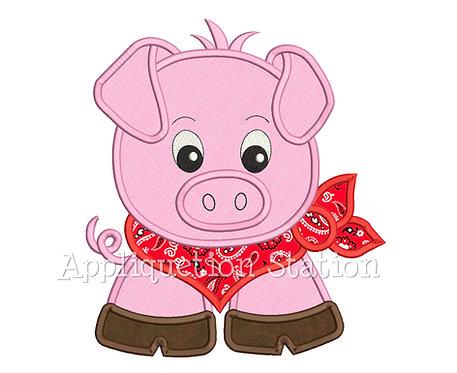 Bandana Baby Pig