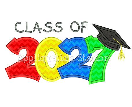 Class of 2027 Graduation Cap