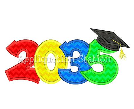 2035 Graduation Cap