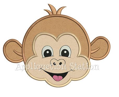 Zoo Baby Monkey Head