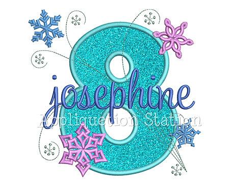Snowflake Number 8