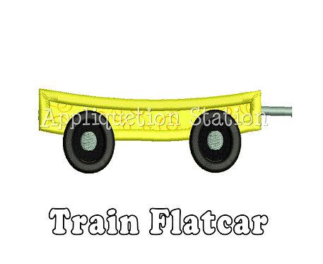 Train Flatcar