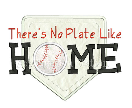 Baseball There's No Plate Like Home