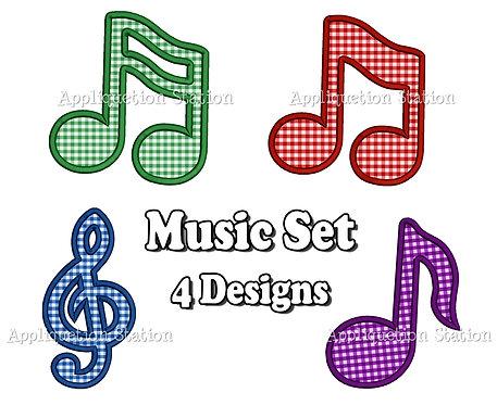 Music Notes Set