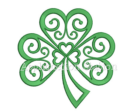 Filigree Shamrock