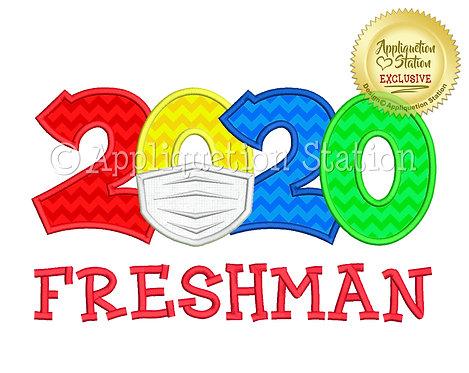 2020 with mask School Freshman