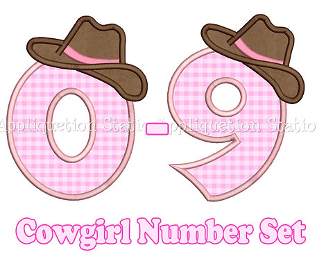 Cowgirl Complete Number Set