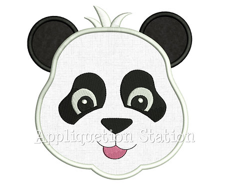 Zoo Baby Panda Head
