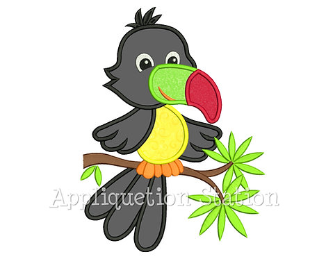 Feather Baby Toucan