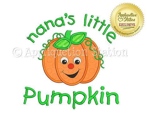 Nana's Little Pumpkin