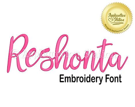 BX Reshonta Script Font