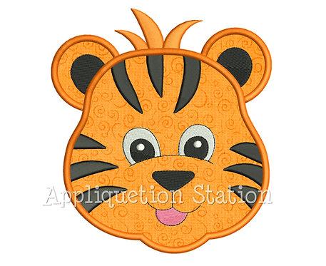 Zoo Baby Tiger Head