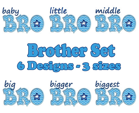 Complete Baby-Biggest Bro Star Set