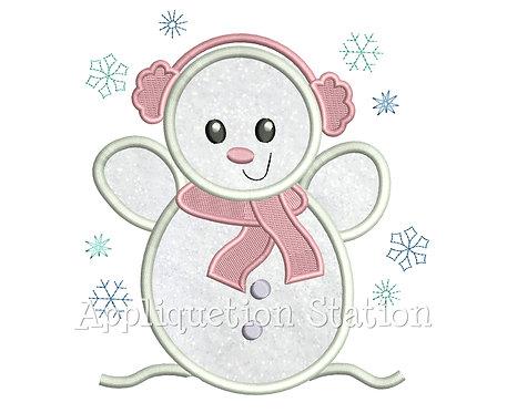 Snowman Girl