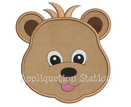 Zoo Baby Bear Head