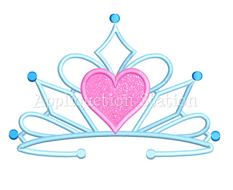 Heart Tiara Crown