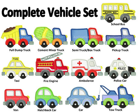 Complete Vehicle Set