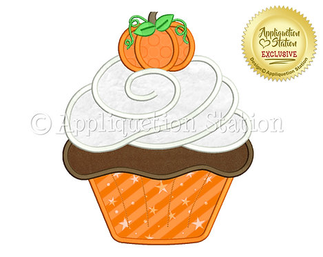 Cupcake Swirl with Pumpkin